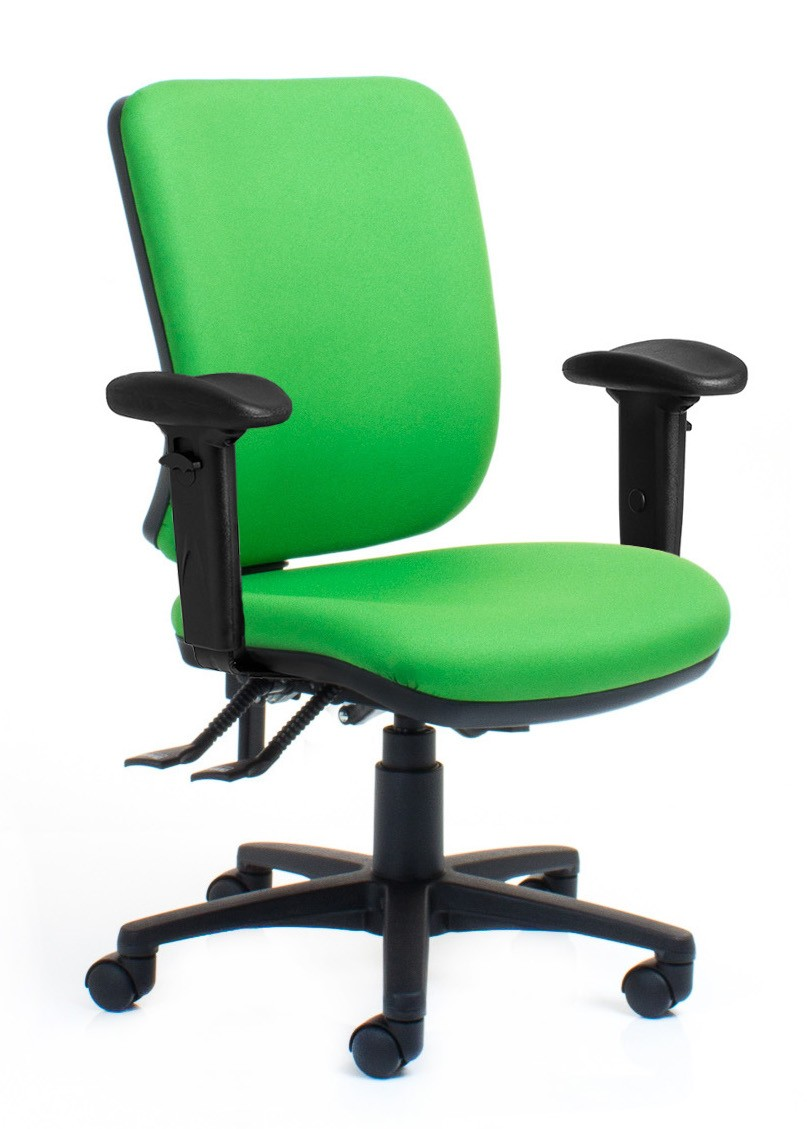 Rexa Manual Epee Mid Back 3 Lever Office Furniture